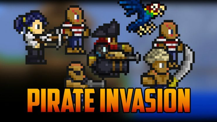 Terraria Pirate Invasion