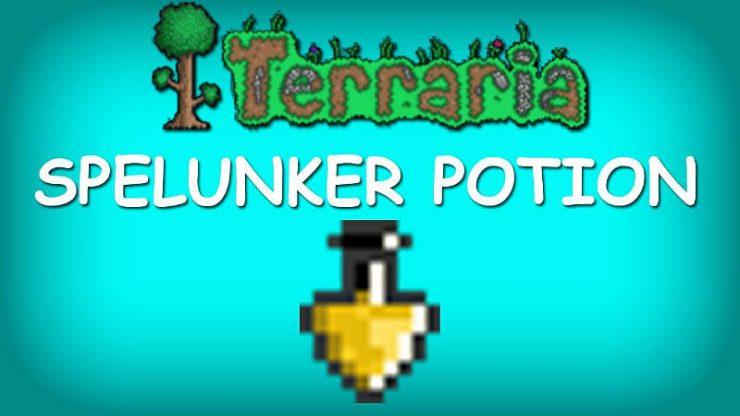 Terraria Spelunker Potion