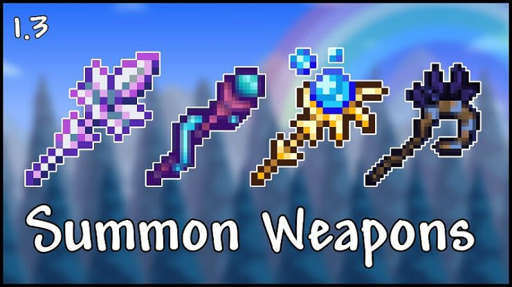 Terraria Summon Weapon Tier List