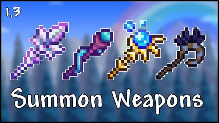 Terraria Summon Weapon Tier List