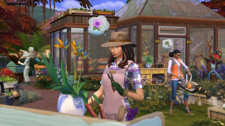 The Sims 3 Gardening Career