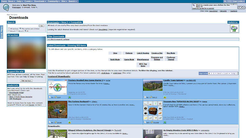 best place to download sims 3 mods