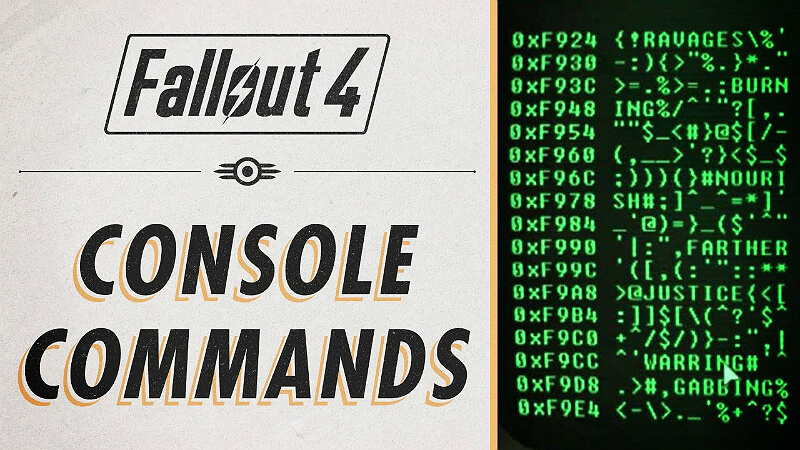 Fallout 4: Console Commands and All Item IDs - Guide | GamesCrack org