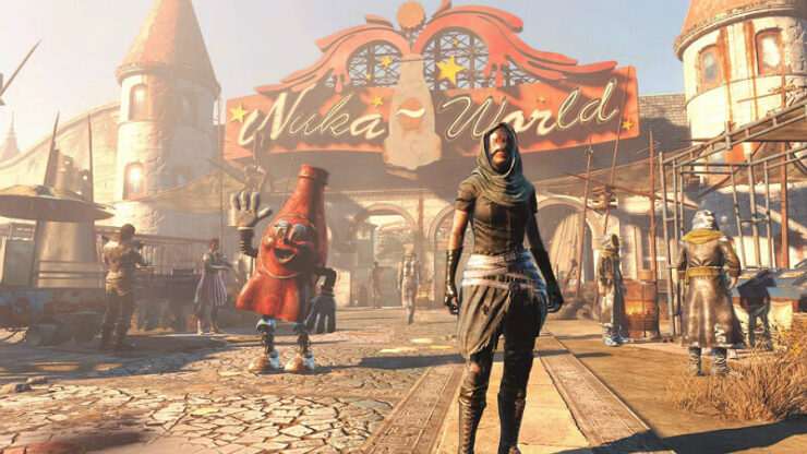 Fallout 4 The Nuka World Raiders