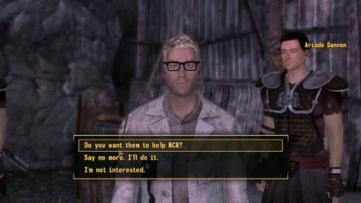 Fallout New Vegas Arcade Gannon