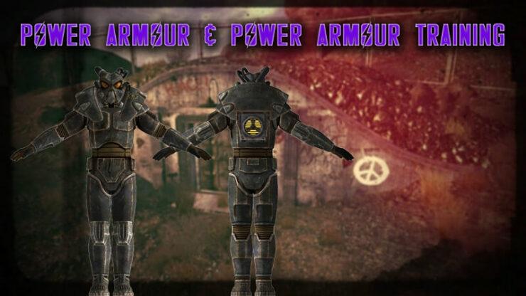 Fallout New Vegas Power Armor Training