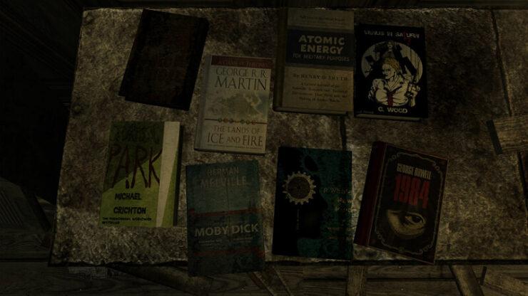 Fallout New Vegas Skill Books