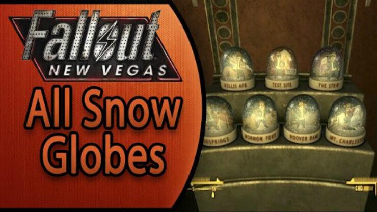 Fallout New Vegas Snow Globes