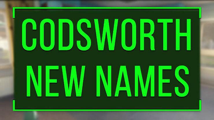 Fallout 4 Codsworth Names
