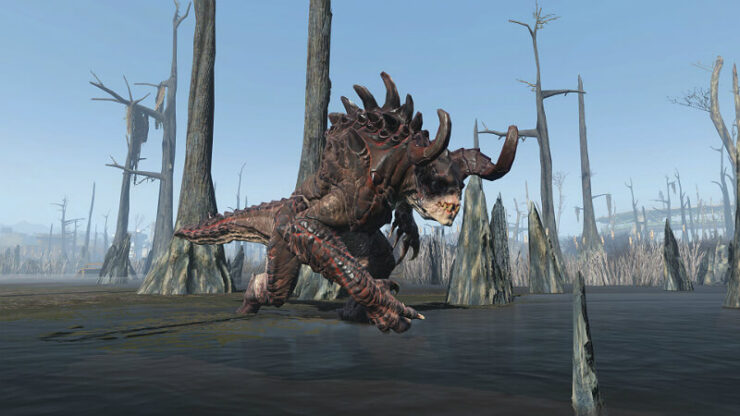 Fallout 4 Deathclaws
