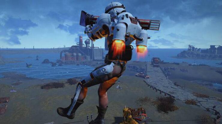 Fallout 4 Jetpack