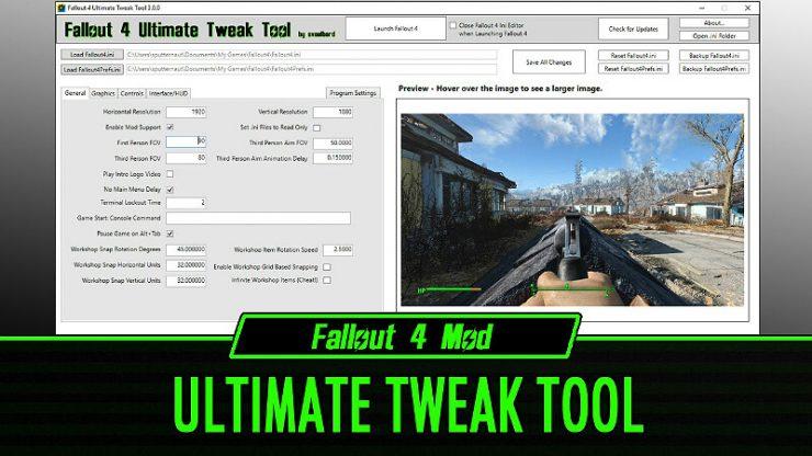 Fallout 4 Tweak Ini