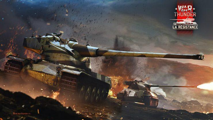 War Thunder Panther D and Tiger H1/E