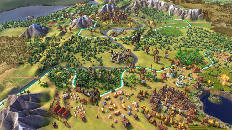 Civilization 6 Cheat Map Editor