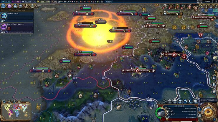Civilization 6 Culture Bomb