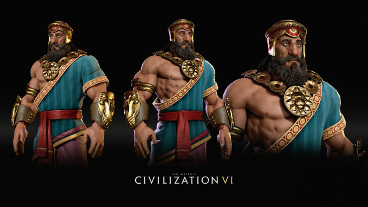 Civilization 6 Gilgamesh