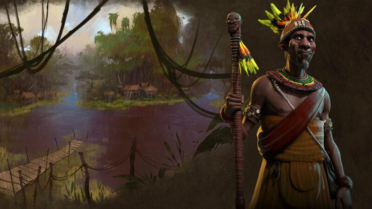 Civilization 6 Kongo