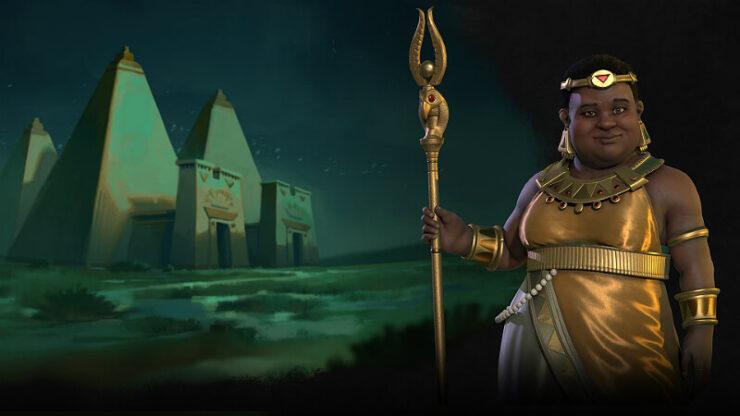 Civilization 6 Nubia