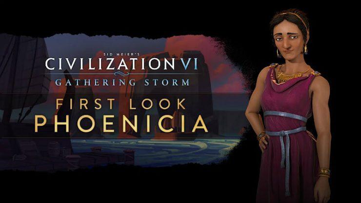 Civilization 6 Phoenicia