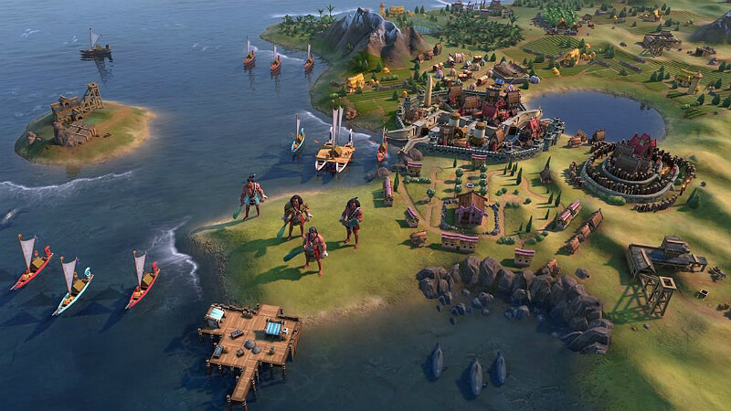 Civ 6: Singleplayer Tier List - Rise and Fall | GamesCrack org