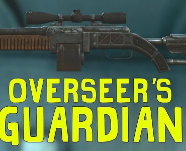 Fallout 4 Overseer's Guardian