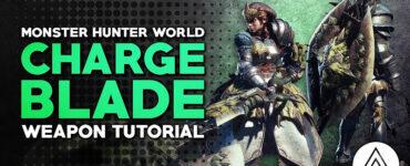 Monster Hunter World Charge Blade