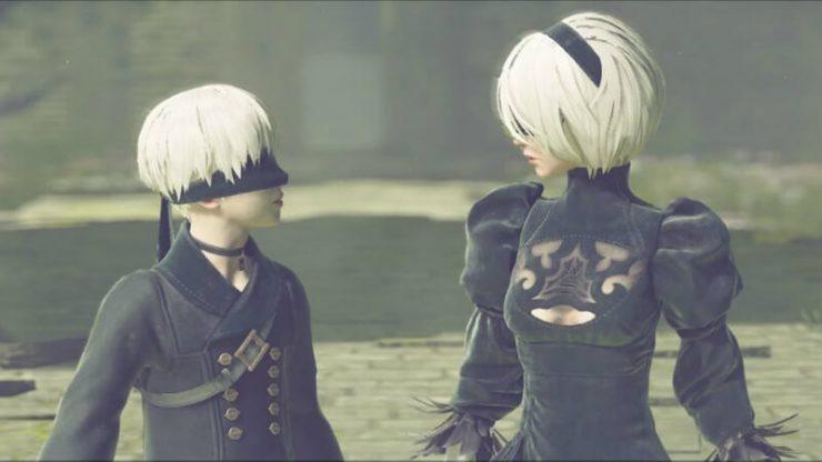Nier Automata Wandering Couple