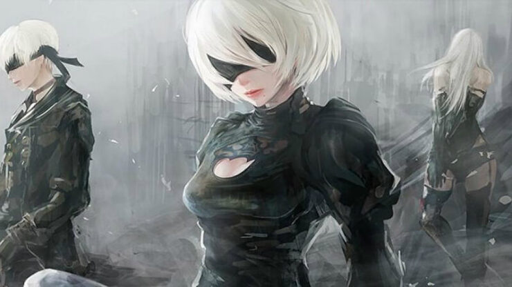 Nier Automata White Screen