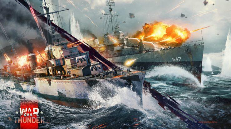 War Thunder Ship Battles