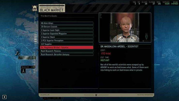 XCOM 2 Black Market
