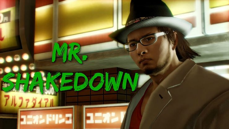 Yakuza 0 Mr Shakedown