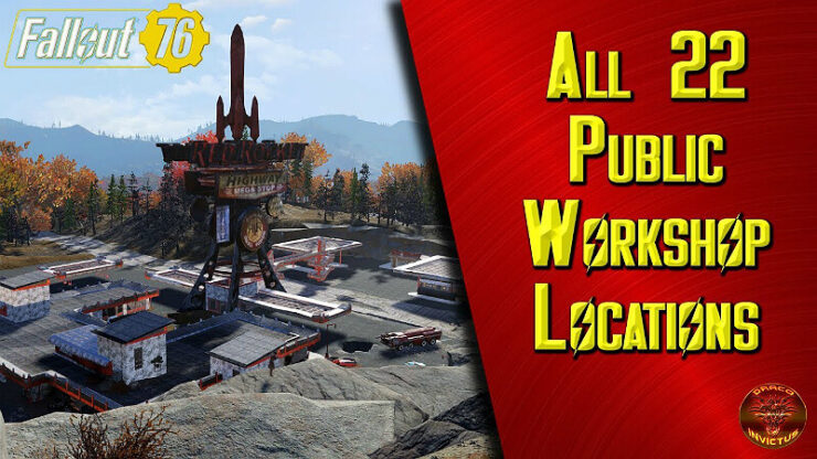 Fallout 76 Workshop Locations