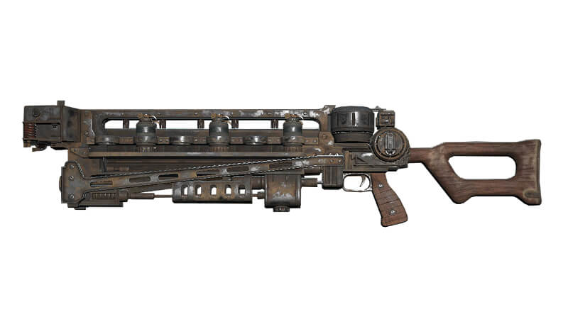 Image result for fallout 76 gauss rifle plan