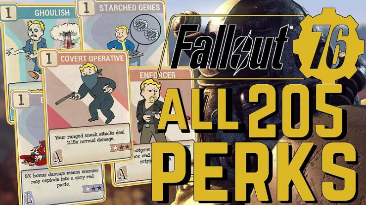 Fallout 76: All Perk Cards List - Guide | GamesCrack org
