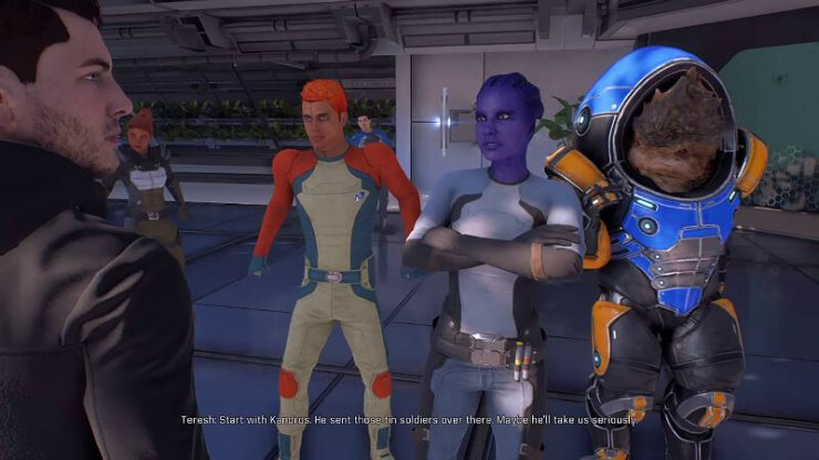 Mass Effect Andromeda Protesters