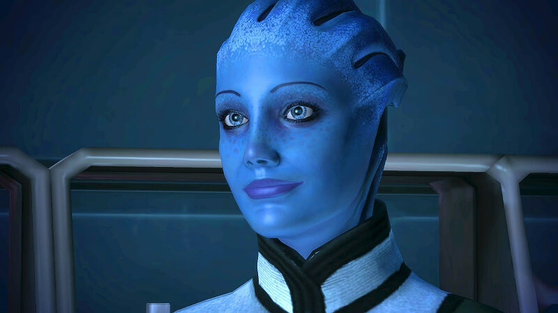 Mass Effect: Asari - Arent actually as they are depicted