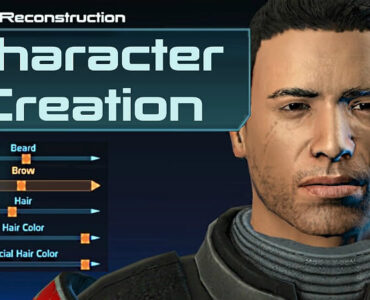 Mass Effect Character Creation
