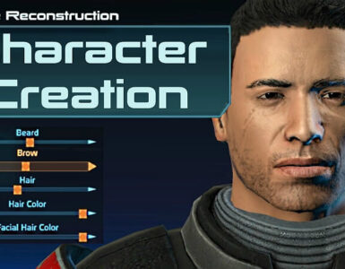 Mass Effect Character Creation