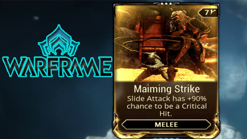 Warframe Maiming Strike