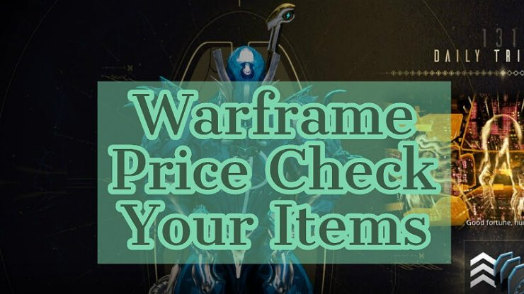 Warframe Price Check