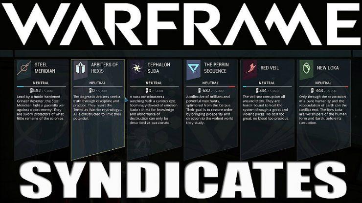 Warframe Syndicates