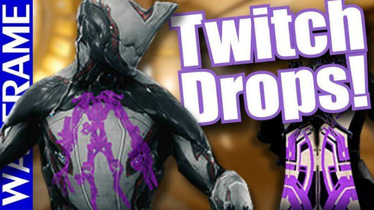 Warframe Twitch Drops