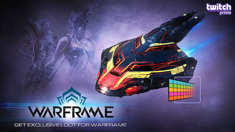 warframe  twitch drops