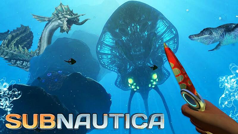 Subnautica Creatures