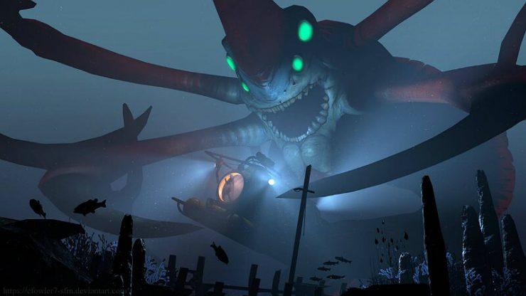 Subnautica Leviathan