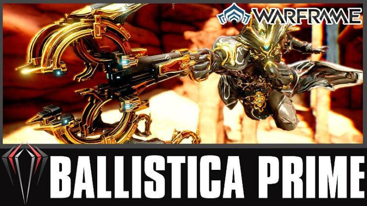 Warframe Ballistica Prime