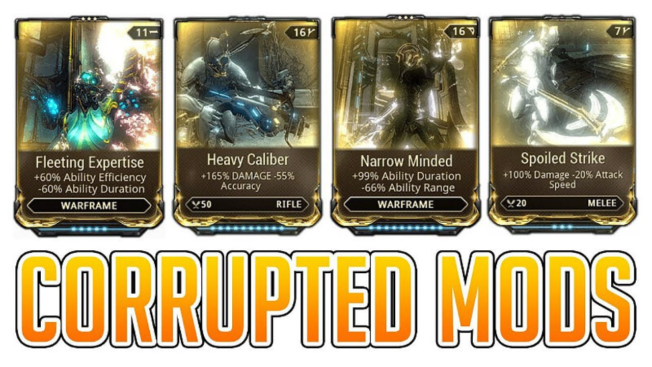 Warframe: Guaranteed Corrupted Mods - Guide | GamesCrack org