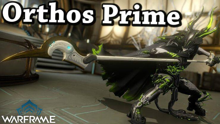 Warframe Orthos Prime